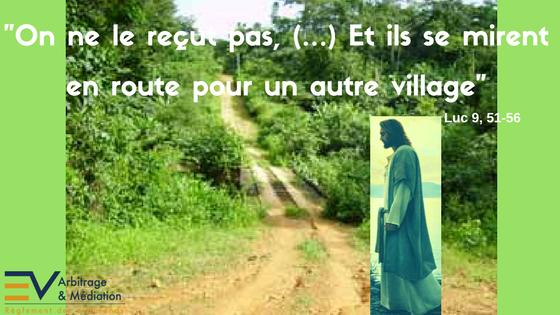 Luc 9, 51-56 : lâcher prise pour ne pas se disperser – Gérez efficacement  vos conflits – Me Elvire VIGNON