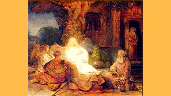 Rembrandt, Abraham, foi en Dieu