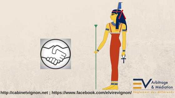 Maät, Egypte, jistice