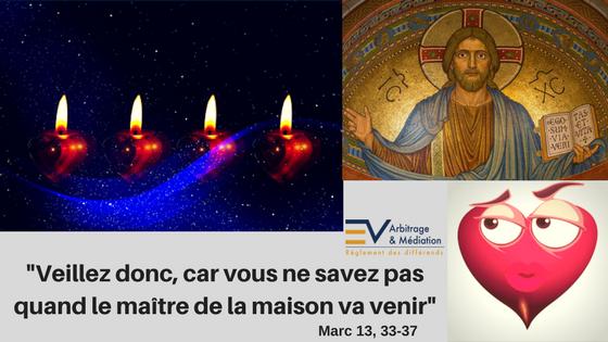 Bougies, Avent, Cœur vigilant