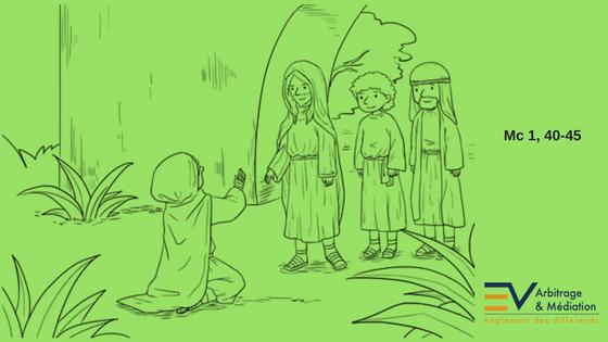 Jésus, lépreux, disciples, guérison