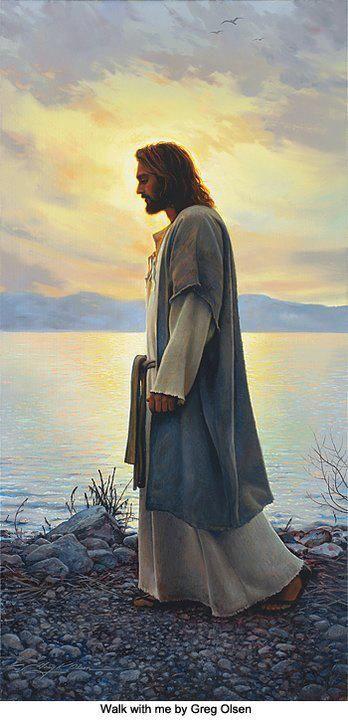 Jésus marche